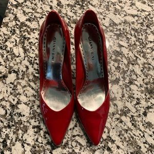 Red Gianni Bini Heels
